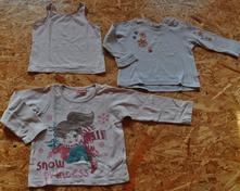 2x tričko + tielko, cena spolu, cherokee,98