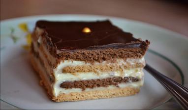 Keksový koláč :)