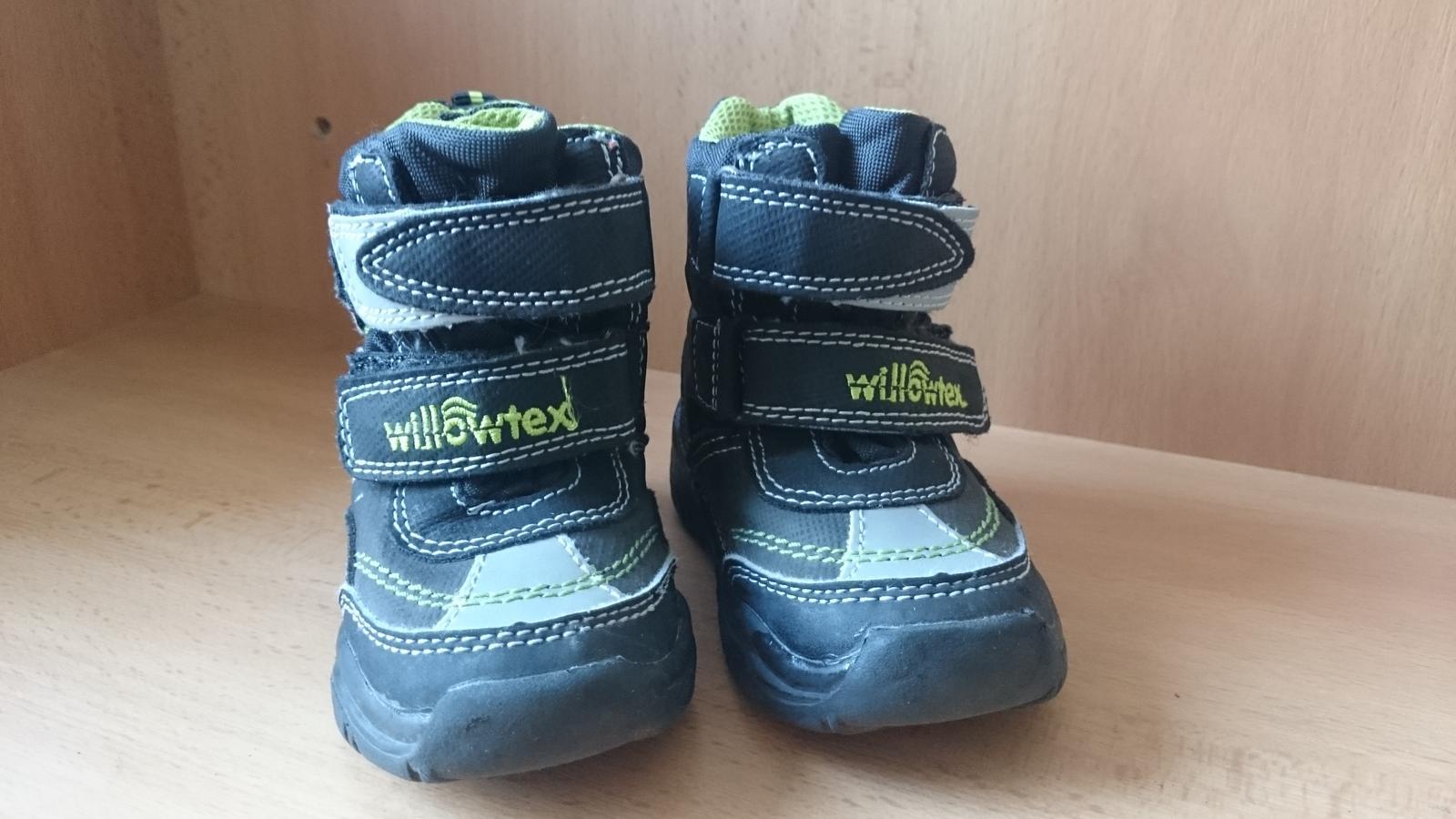 Nepremokavé zimné topánky zn. willowtex 4fd5d40b75