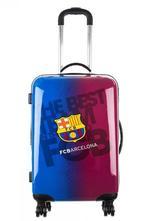 Cestovný kufor fc barcelona na kolieskach,