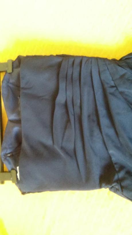 30d067d79abc Dlhé modré plesové šaty - ples stužková xs