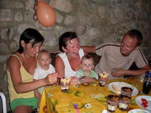 narodeninová oslava v  Chorvátsku