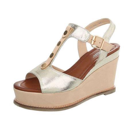 713701b98b Dámske sandále na platforme marita