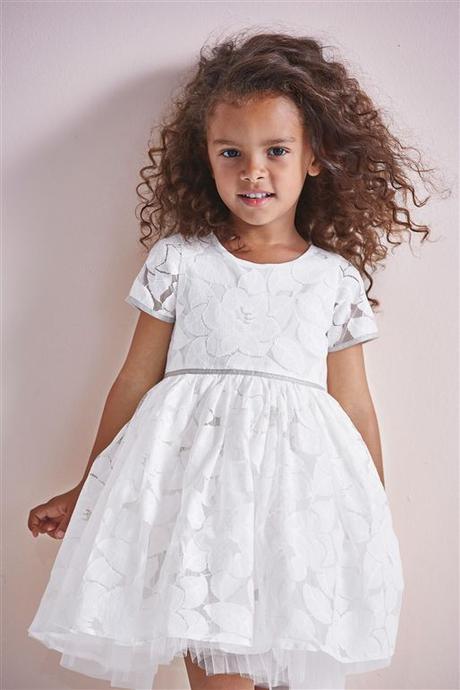 6602cec81a81 Sviatočné bielo-strieborné šaty next