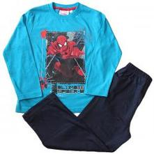 Pyžamo spiderman modré a tyrkysové, 98 / 104 / 116 / 128