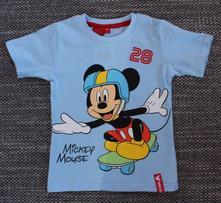 Tričko mickey s krátkym rukávom 95131, disney,122
