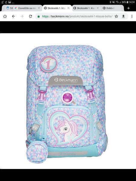 a07910f601 Výber školskej tašky - Modrý koník