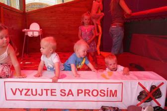 Jakubko, Branko, Dominik, v pozadi Nikolka