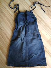 Riflové tehu šaty, 38