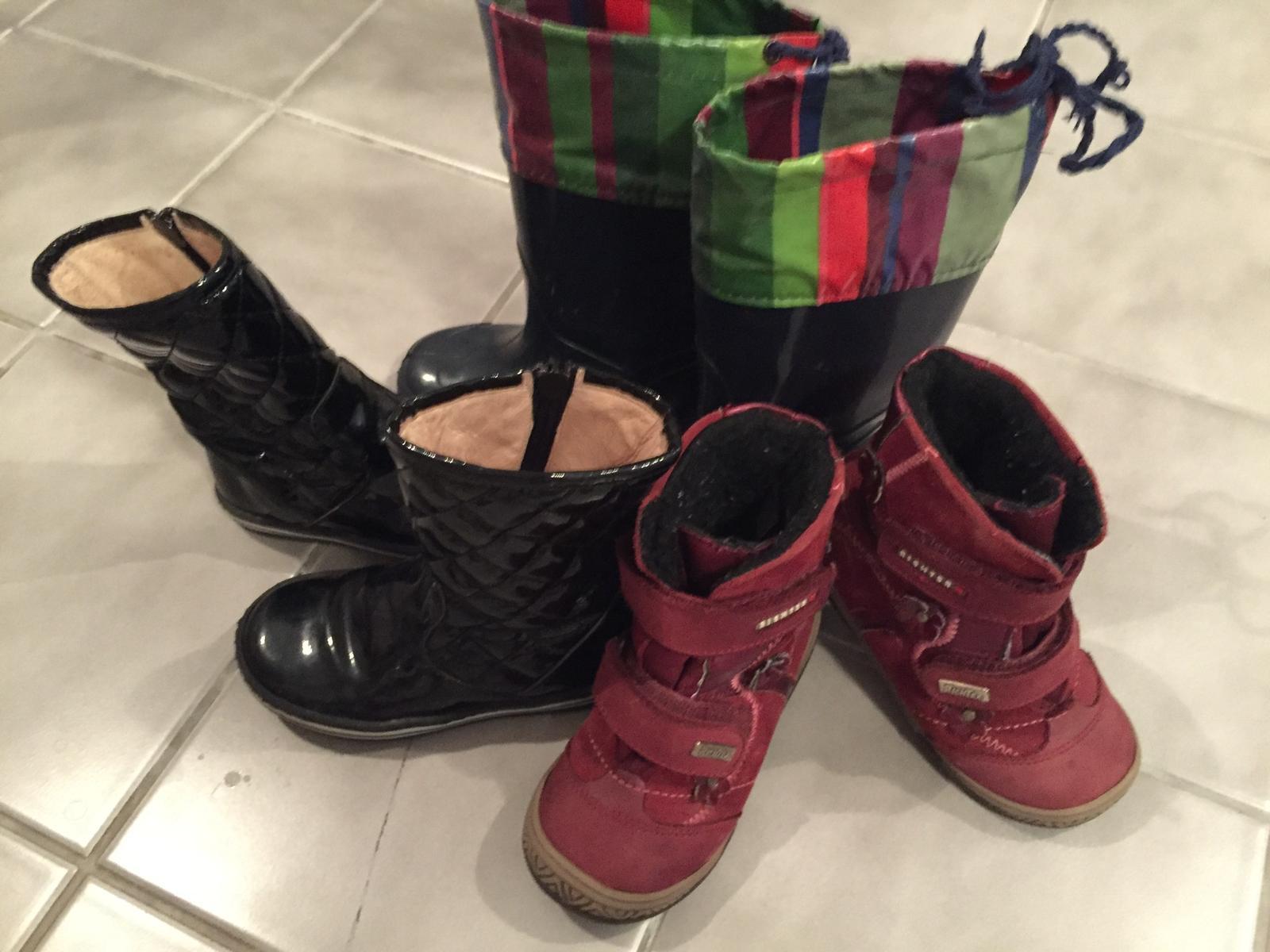 Predám značkové zimné topánky pre dievča 23 velk 3f6a415976c
