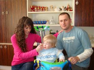 Maminka,Tobinko a tatinko sa lubia....