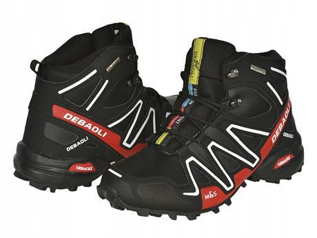 f254ada2c Pánske topánky mas zimné, športové black/red, 41 - 46 - 39 € od ...