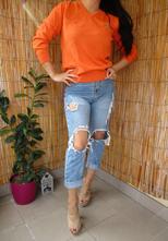 0cc8d302eb Lacoste - oranžový sveter