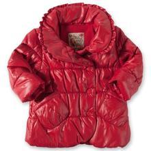 Staccato zimná bundička, červená, 68