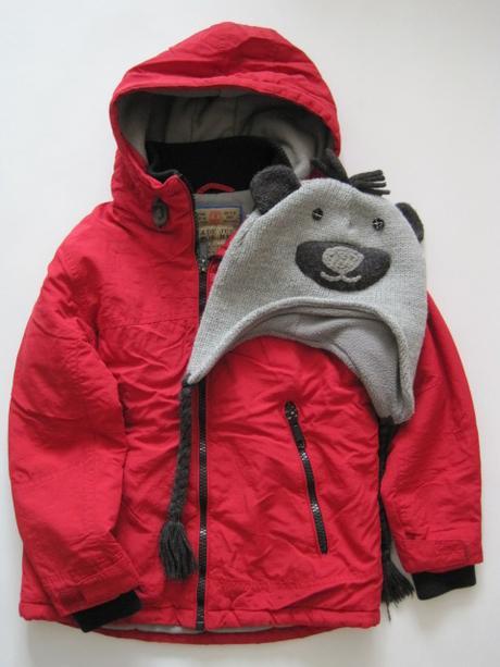 b59389ef8 Zimná bunda + čiapka next, next,122 - 13,99 € od predávajúcej bambulenka |  Detský bazár | ModryKonik.sk