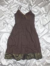 Yessica c&a tmavohnedé letné šaty, c&a,40