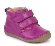 Kožená barefoot obuv froddo g2130146-9 cyclamen, froddo,22 - 30