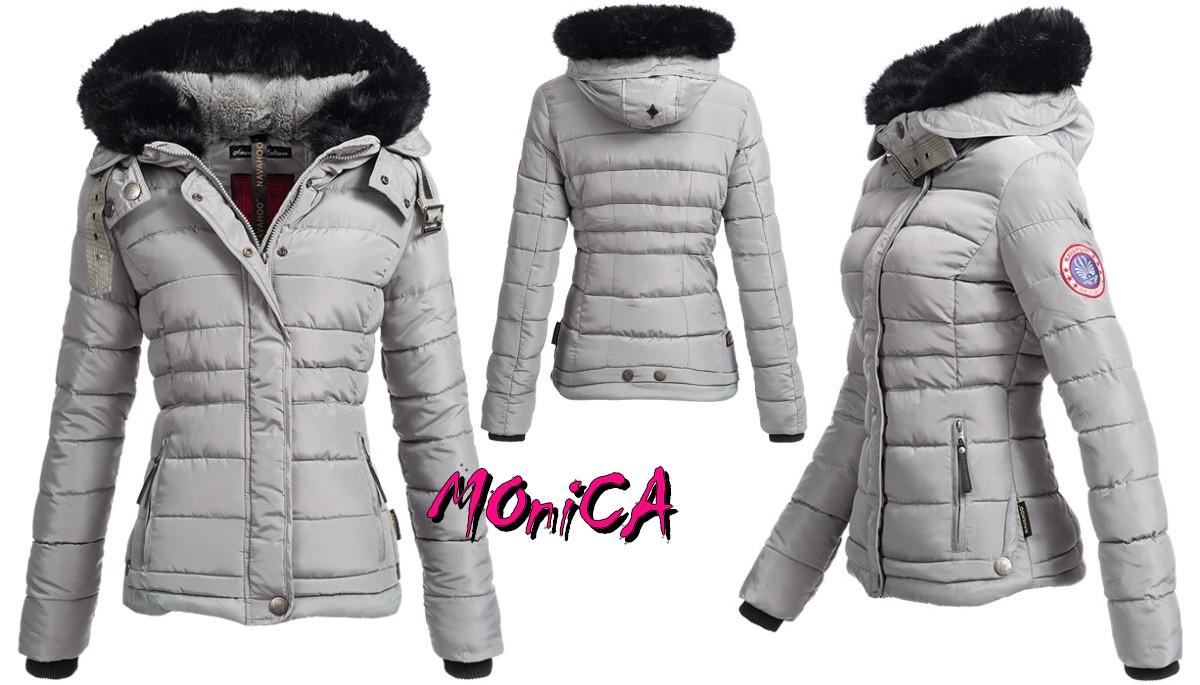 Luxusná dámska zimná bunda - 4 farby 57d27c158cd