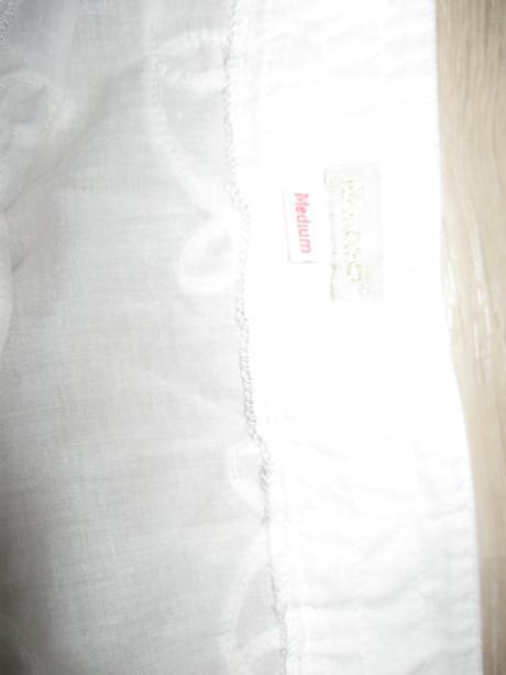 1db988cf619d Dlhá bavlnená biela sukňa