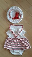 Námornícke šaty, h&m,62