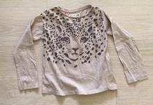 Triko leopard, h&m,110