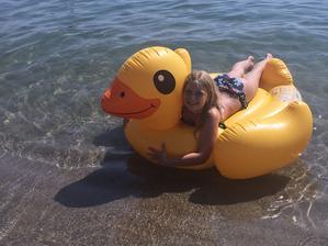 leonie a jej kačica