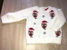 Chlpaty vianocny pulover, f&f,74