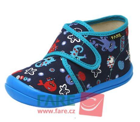 dd7f295fe3dc1 Detské papučky fare 4012408, fare,21 - 10,50 € od predávajúcej toes | Detský  bazár | ModryKonik.sk