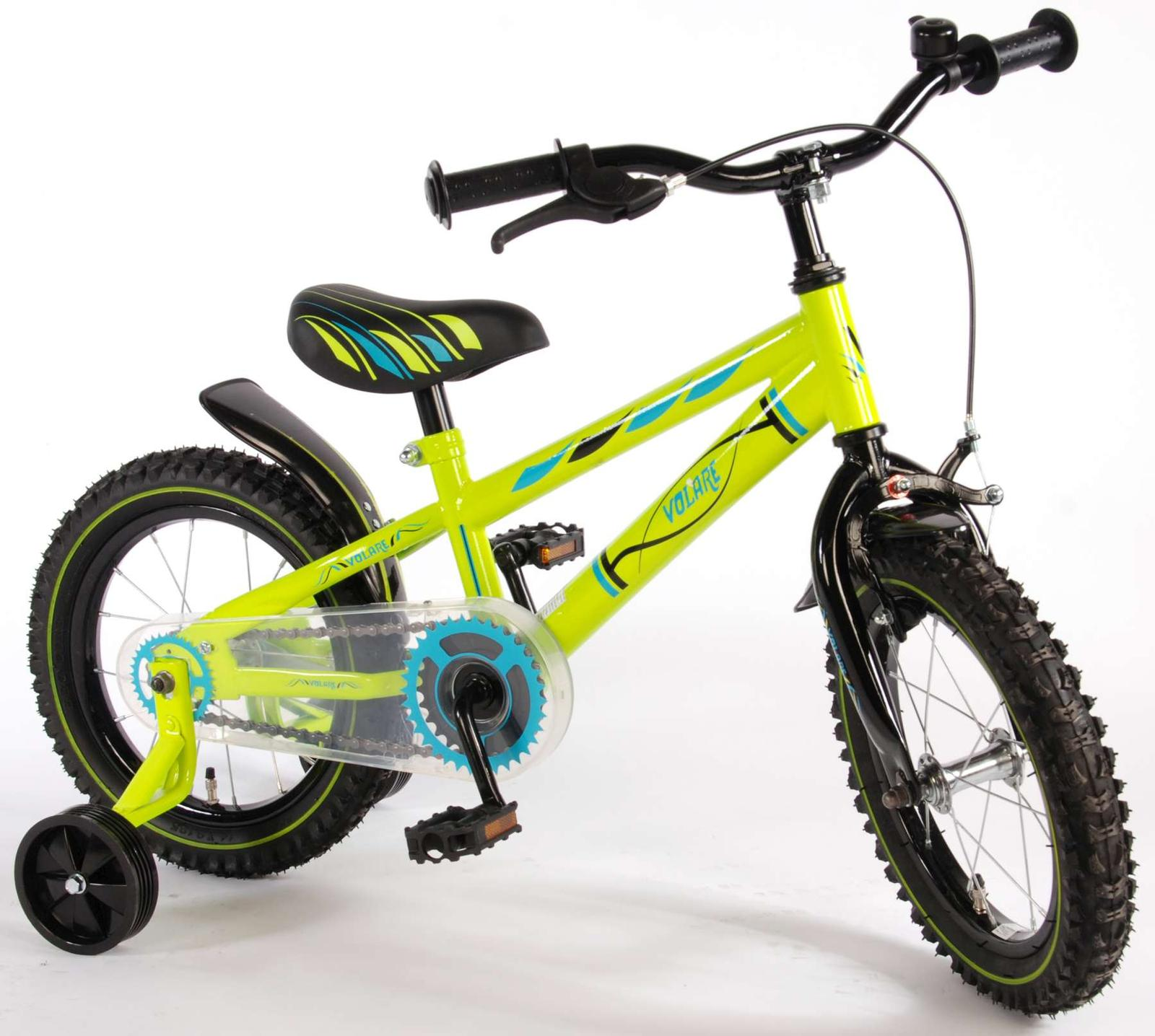 38746bcce0a9 Volare electric green detský bicykel 16