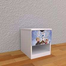 Detský nočný stolík - frozen,