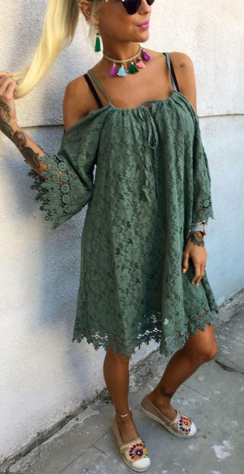 decb495f0c8c Čipkované dámske letné šaty