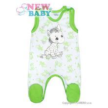 Kojenecké dupačky zebra - zelené veľ. 68    , new baby,68