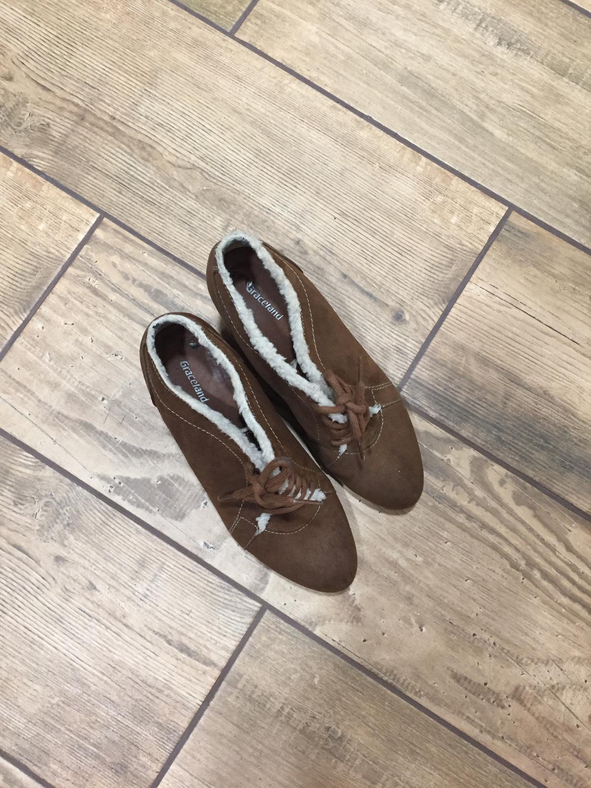 Jarné jesenné topánky na platforme 566460e125e