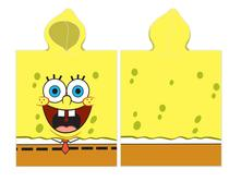 Pončo spongebob úsmev 50/115 cm,