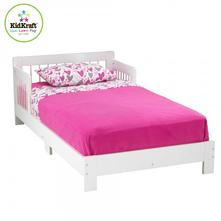 Kidkraft detská posteľ classic white, 70,140