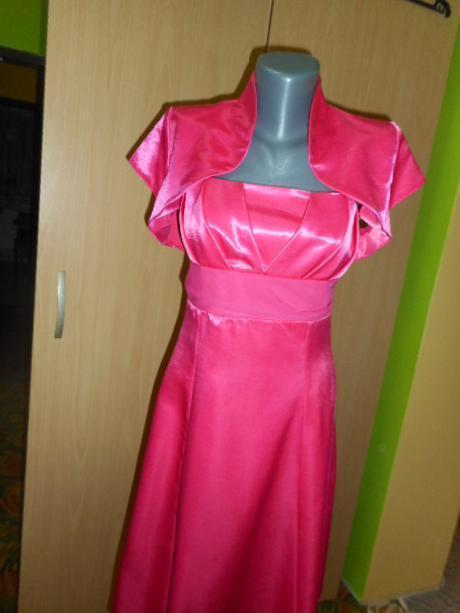 c187af651c79 Spoločenské šaty + bolerko