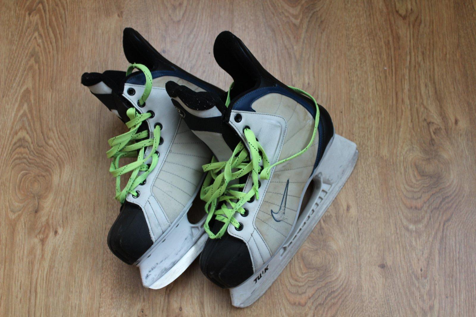 Pánske hokejové korčule nike 594881bede3