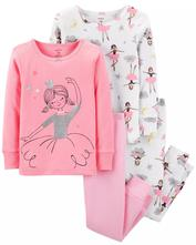 4 balenie pyžamiek carter's usa, carter's,104 / 116 / 122 / 128 / 134