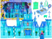 Rozprávkový ľadový zámok-ladové kráľovstvo frozen,