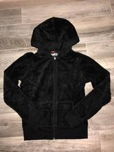 Jednoduchý čierny sveter, denim co,146
