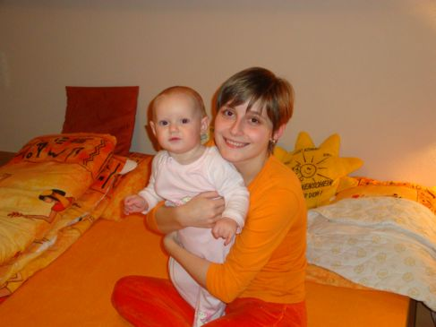 Mamka a Lenka