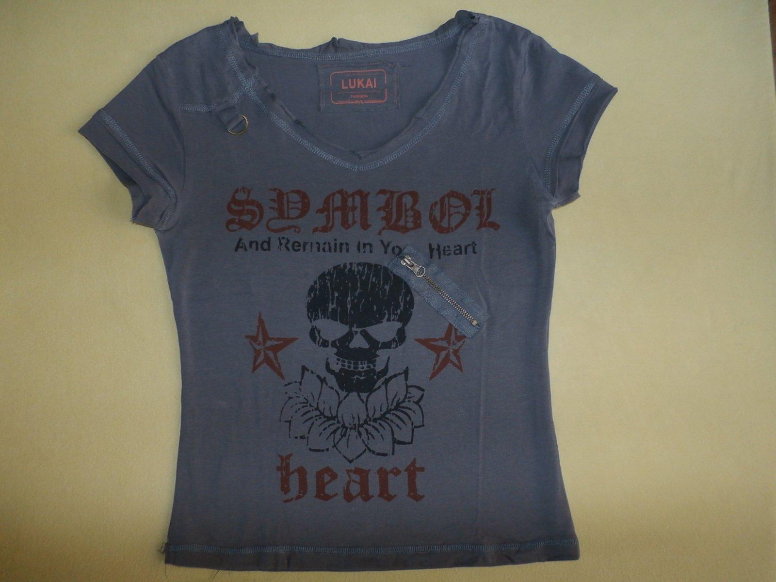 eb8e99d58ff9 Tričko so smrtkou - 1x oblečené