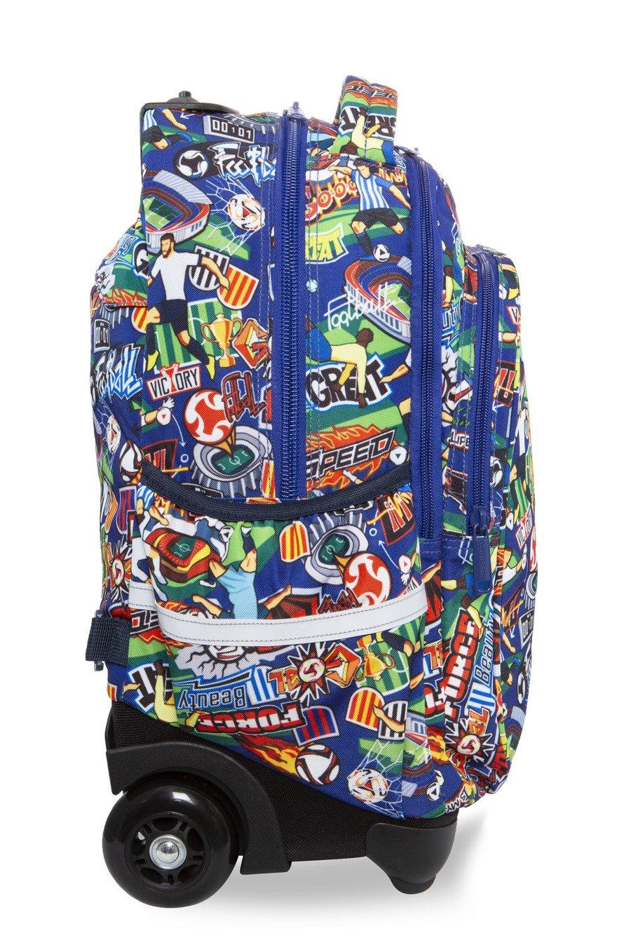 dd0edf03a7 Školská taška batoh na kolieskách coolpack junior