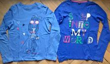 2 dievčenské tričká, f&f,164