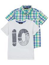 George košela + tričko, george,110 - 164