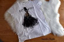 Moderné dámske tričko balerína, l / m / s / xl