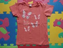 Motýlikové bavlnené tričko dopodopo - top stav, dopodopo,104