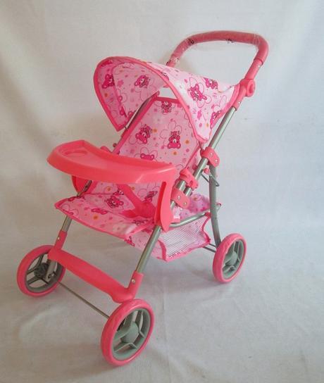 Športový kočík pre bábiky baby mix 9366t-m1104,