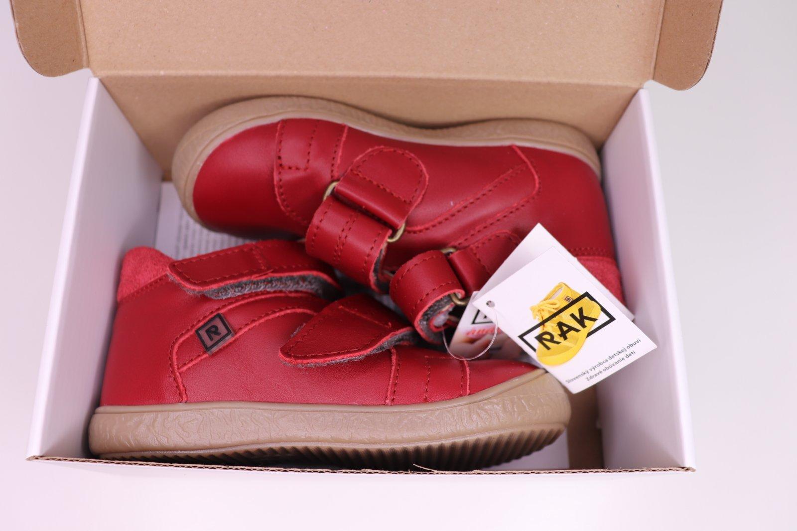 2aa18bb8c25a5 Rak dievčenské kožené topánky kathleen - červené, rak,24 / 25 / 28 - 34 €  od predávajúcej princeznovo | Detský bazár | ModryKonik.sk