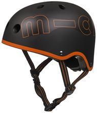 Detská prilba micro black orange m,